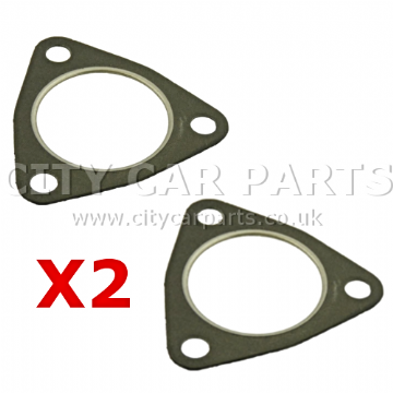 2 X Vauxhall Astra Signum Vectra Zafira 1.9 Cdti Front Down Pipe Exhaust Gasket